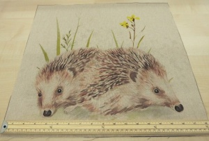Hedgehog pre cut panel