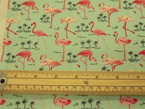 Flamingo cotton print