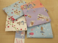 Fat Quarter pack Alice In Wonderland