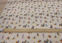 Mickey Mouse and friends cotton print