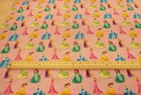 Disney princess cotton print