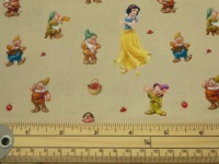 Snow White cotton print